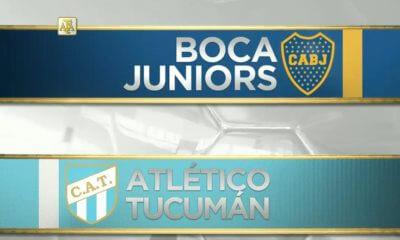 Boca vs Atletico Tucuman 2019